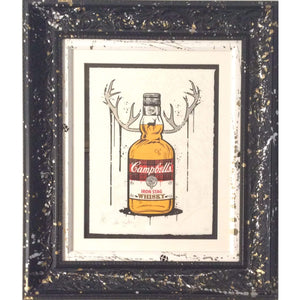 Iron Stag JJ Adams Limited Edition Framed