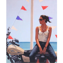Load image into Gallery viewer, La Fille a la Moto Jack Vettriano Limited Edition
