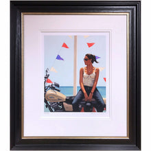 Load image into Gallery viewer, La Fille a la Moto Framed Jack Vettriano