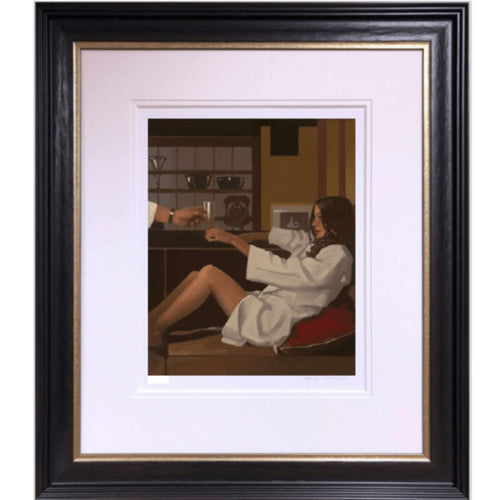 Man of Mystery Jack Vettriano Framed Limited Edition