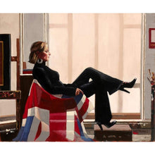 Load image into Gallery viewer, Olympia (Zara Philips) by Jack Vettriano - Limited Edition Print