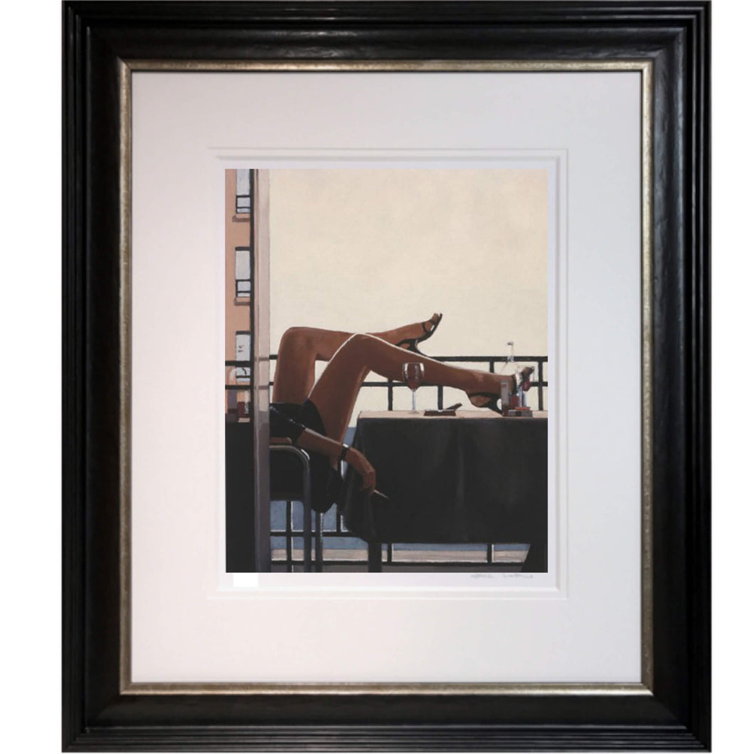 The Temptress Jack Vettriano Framed Limited Edition