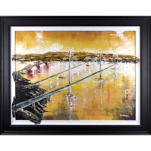 Mark Curryer Original Bridge The Gap Framed