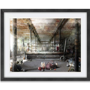 Mark Davies One More Round Limited Edition Framed
