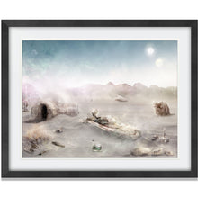 Load image into Gallery viewer, Mark Davies Shifting Sands Framed Star Wars Limited Edition