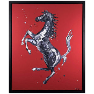 Paul Oz Rampante Carvalho Hand Embellised Artists Proof
