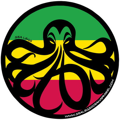 Sea Legs Rasta Decal
