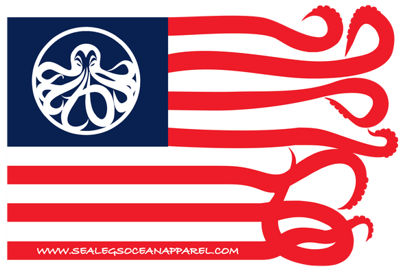 "Sea Legs ""Star & Arms"" Flag/"