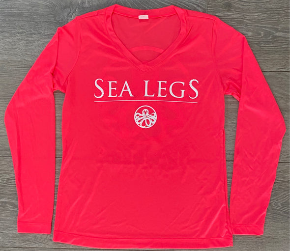 Long Sleeve Women's Dry-Fit (Coral)