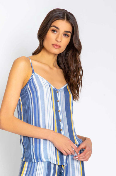 Beach Blues Stripe Cami