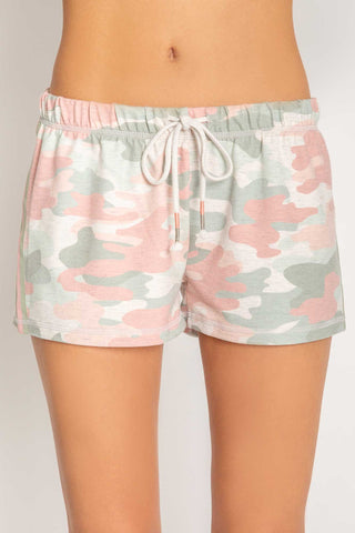 Camo in Colour Camo Short