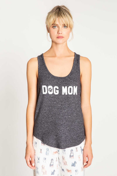 Anything is Paw-sibble 'Dog Mom' Tank