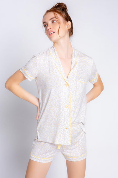 Sunburst Modal Cheetah PJ Set