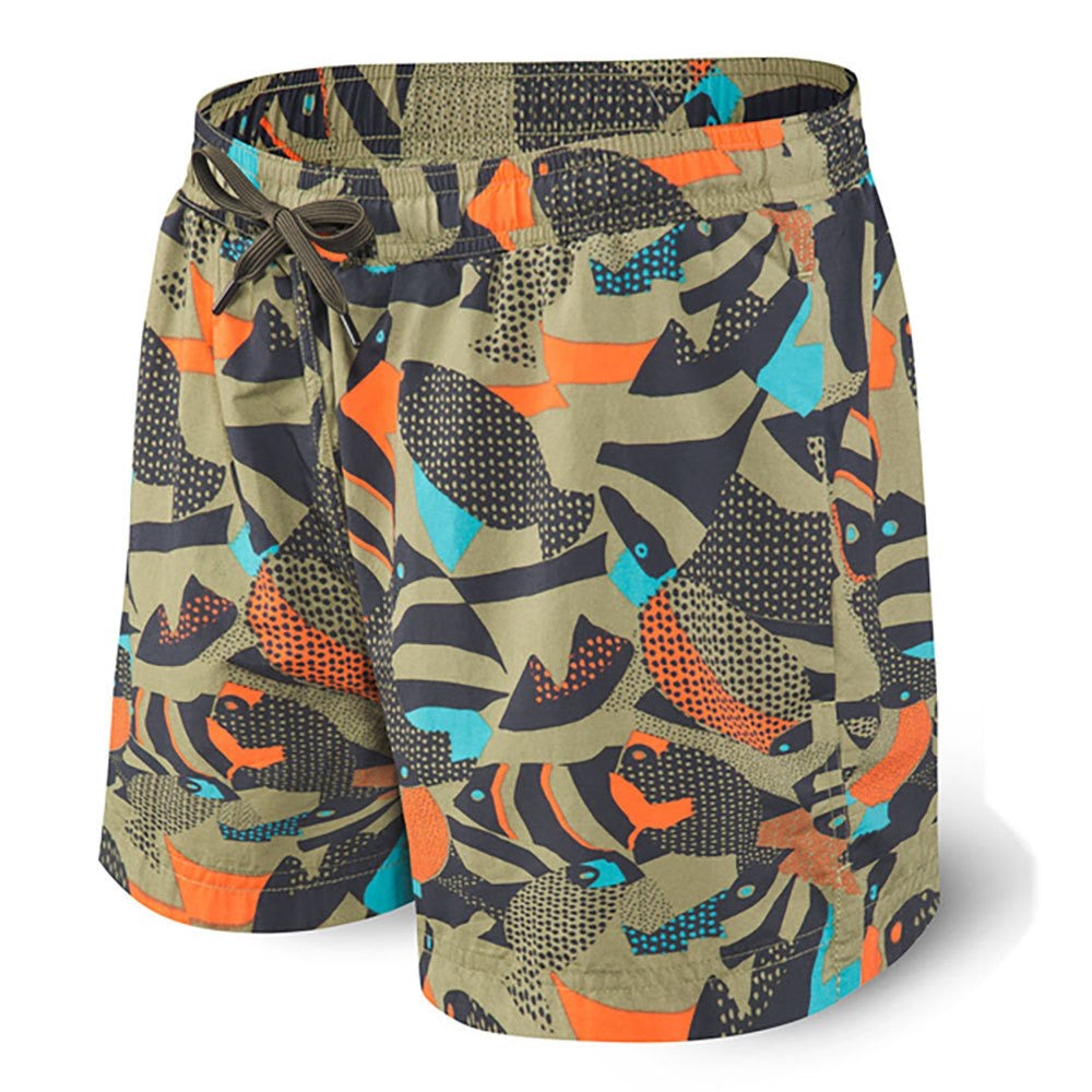 Cannonball Swim Trunk 2N1, Mud Moss Fish MMF