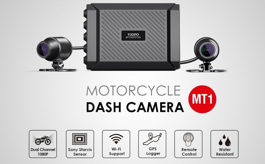 VIOFO launches the VIOFO MT1, the first motor dashcam!