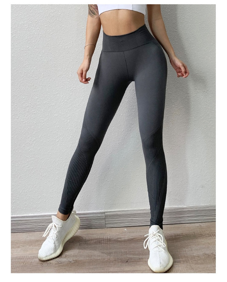Yoga Best seller Fitness High Waist Legging Tummy Control Seamless Energy Gym wear Workout Running Activewear Yoga Pant Hip Lifting Training Wear
