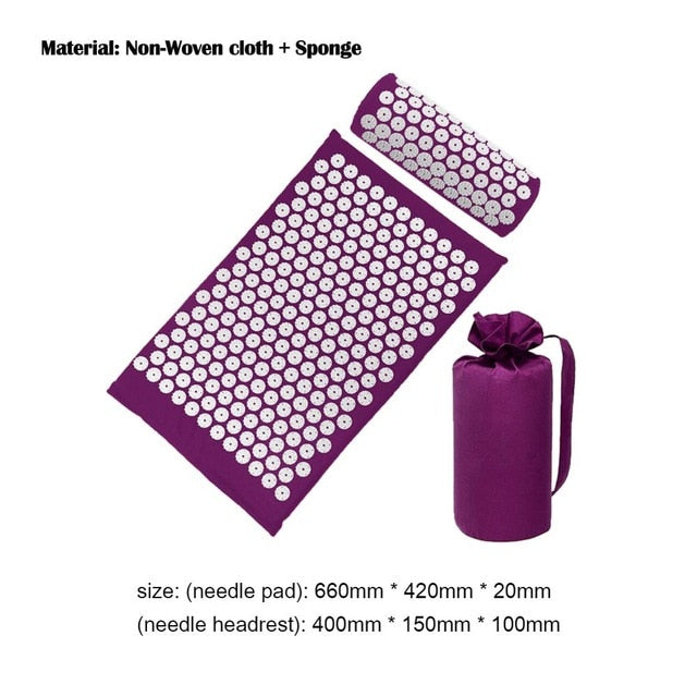 Yoga Mats & Cushion Massager