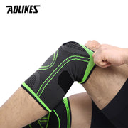 Knee Support Professional AOLIKES 1PCS 2020  Protective Sports Knee Pad Breathable Bandage Knee Brace Basketball Tennis Cycling
