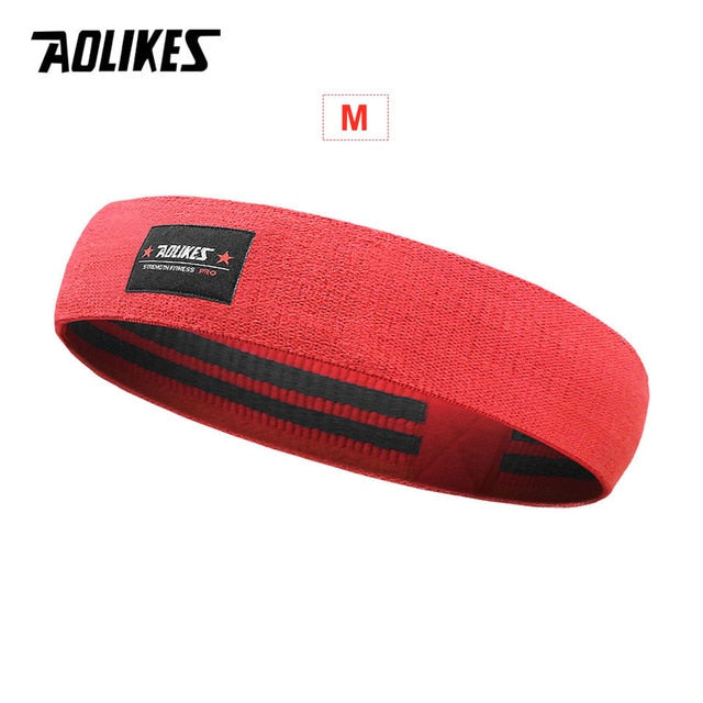 AOLIKES Unisex Booty Band Hip Circle Loop Resistance Band Workout Exercise for Legs Thigh Glute Butt Squat Bands Non-slip Design