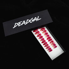 Load image into Gallery viewer, 75% OFF - Medium Almond Hot Pink Jade Press On Nail Set - DeadGal