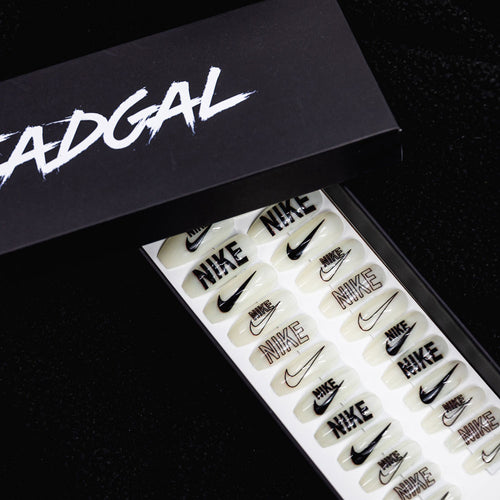 Medium Coffin JDI Designer Press On Nail Set - DeadGal