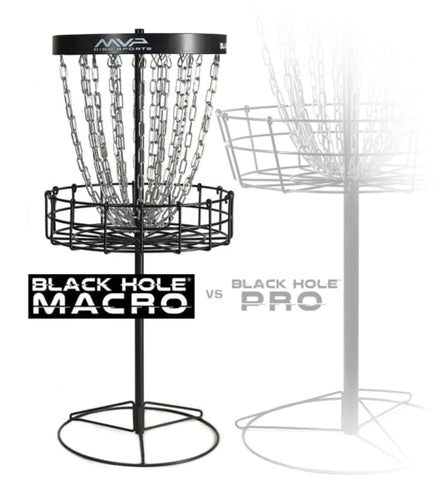 MVP Black Hole Macro (Junior) Basket / Target