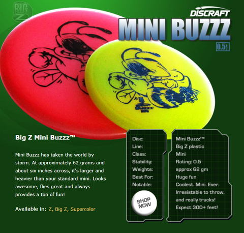 Junior / Kids' Discs - BIG Minis
