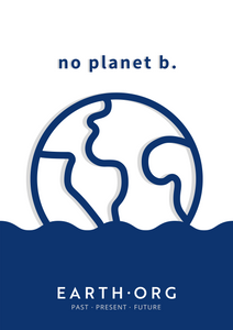 No Planet B Poster by Samantha Yih