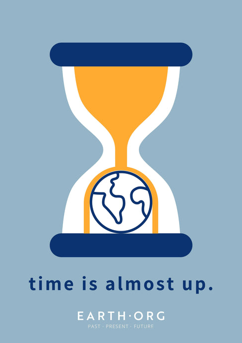 Time is Almost Up Poster by Samantha Yih