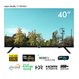 "40"" LED FHD Frameless TV <b>(AW-LED40X6FL)</b>"