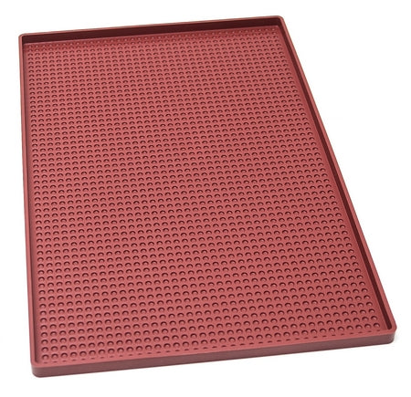 TAPIS SILICONE RELIEF BULLE AVEC REBORDS - 400X600X15 MM