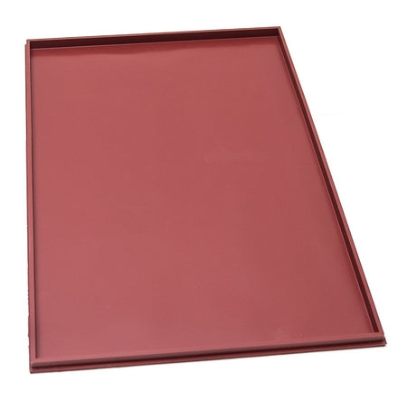 TAPIS SILICONE LISSE AVEC REBORDS - 320x555x6 MM