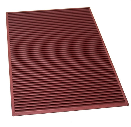 TAPIS SILICONE RELIEF VAGUE SANS REBORD - 400x600x10 MM