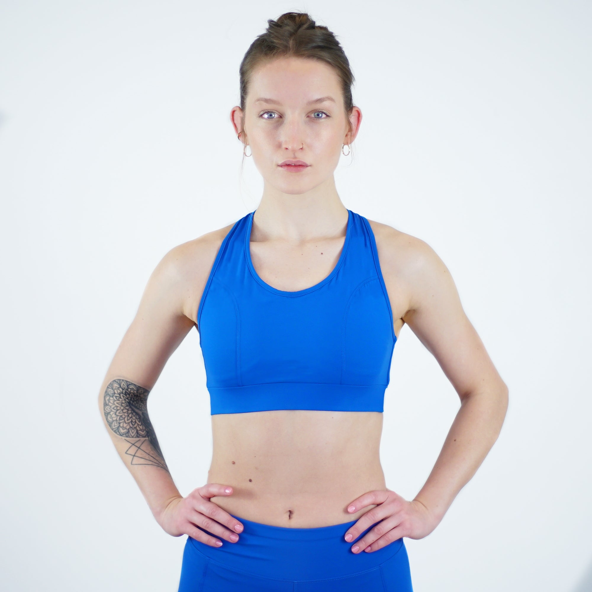 Darcy Sports Bra in Ocean Blue