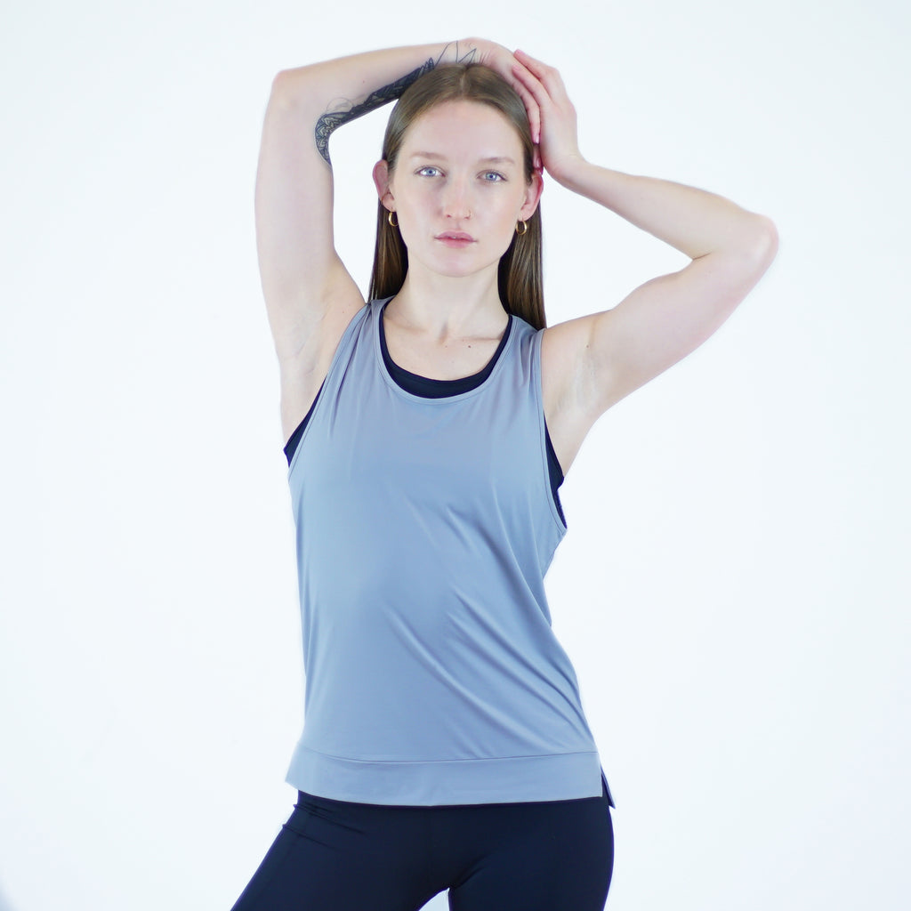 Rupi Tank in Light Grey