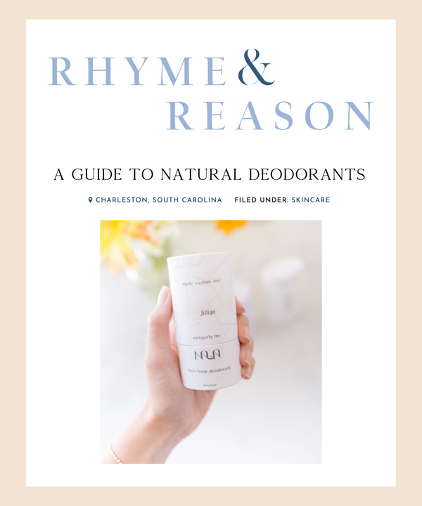 A Guide to Natural Deodorants