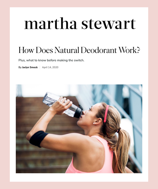 How Does Natural Deodorant Work?