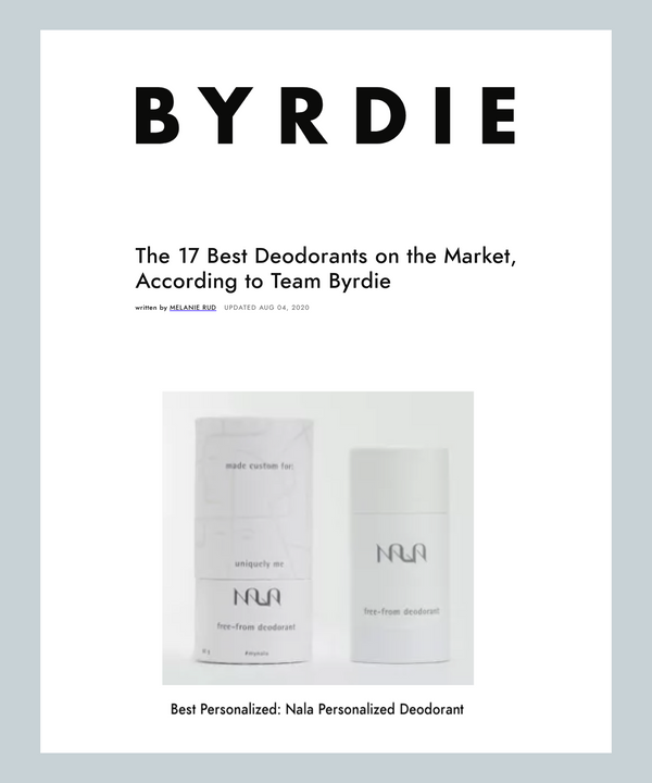 The 17 Best Deodorants on the Market, According to Team Byrdie