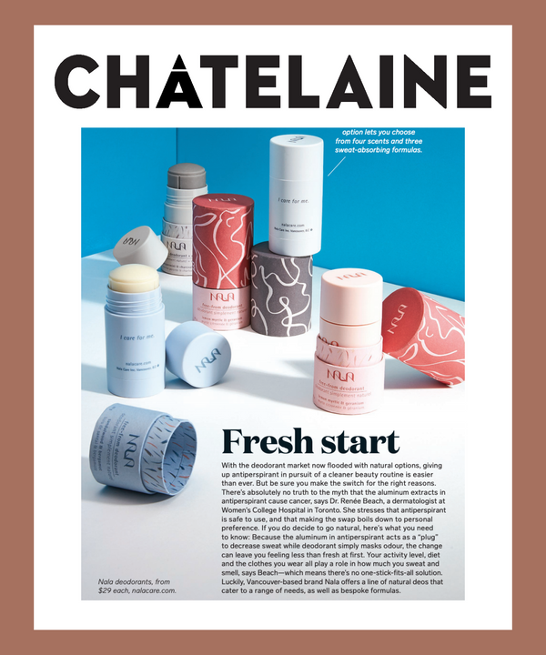 In print: Fresh Start - Nala Feature in Chatelaine