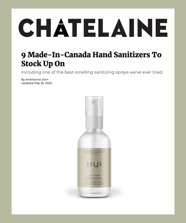 9 Made-In-Canada Hand Sanitizers To Stock Up On