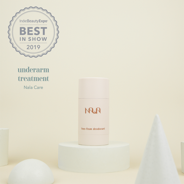 Nala named Best Underarm Product at Indie Beauty Expo