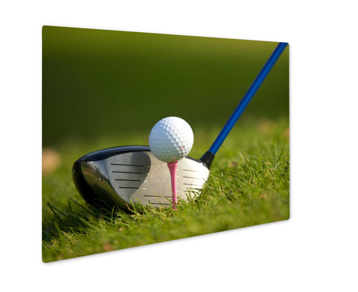 Metal Panel Print, A Golf Club On A Golf Course - Life Relevance