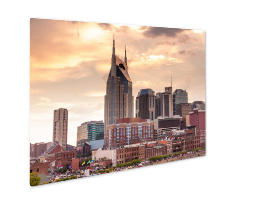 Metal Panel Print, The Parthenon Nashville Tennessee - Life Relevance