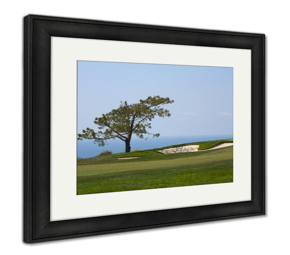 Framed Print, View From Torrey Pines Golf Course - Life Relevance