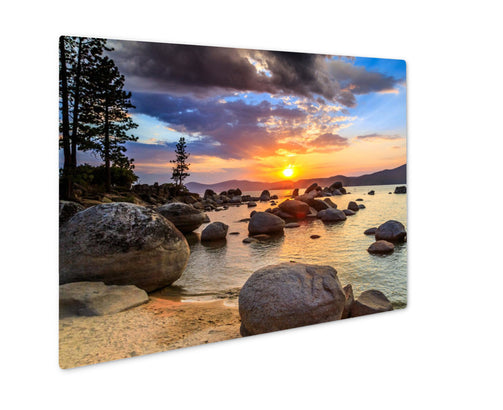 Metal Panel Print, Sunset - Life Relevance