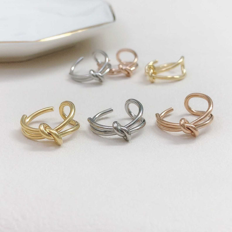 knot silver ring / HDM137