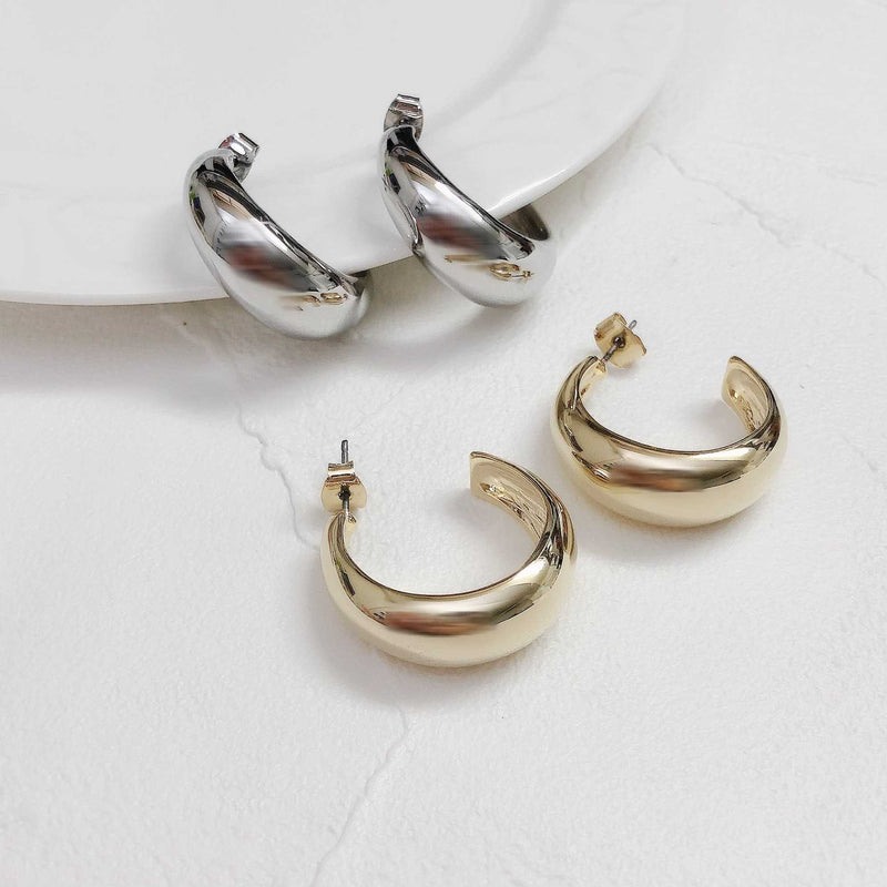 hoop gold pierce/ HDM092
