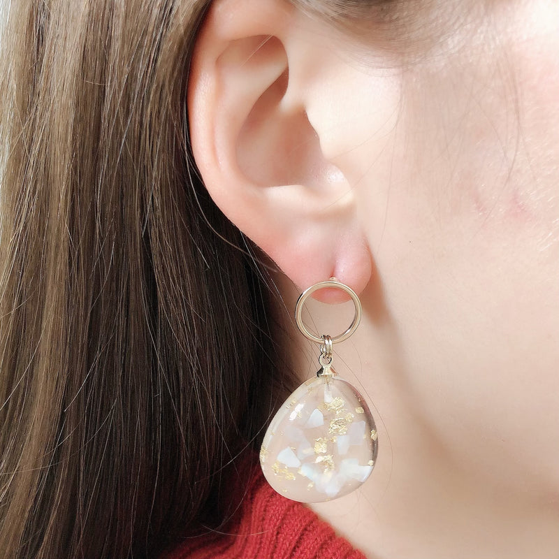 clear gold pierce / HDM075