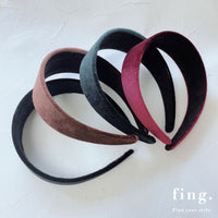 velvet head band / PTR145