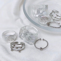 crystal silver set / PAS023